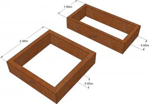 design for raised vegetable garden beds