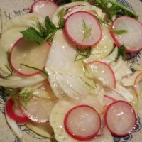 Radish and Fennel Salad
